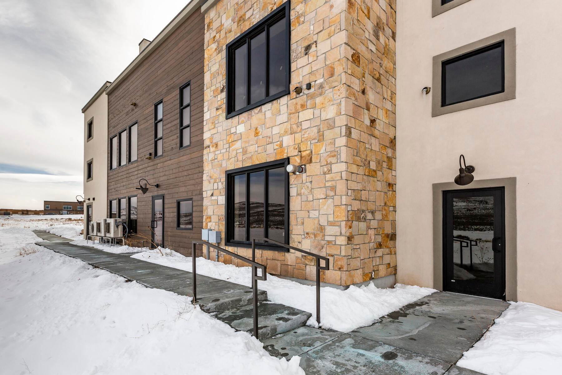 18. Single Family Homes for Sale at Completed Park East II Work-Live Real Estate Offering 4554 Forestdale Drive, #C12 Park City, Utah 84098 United States