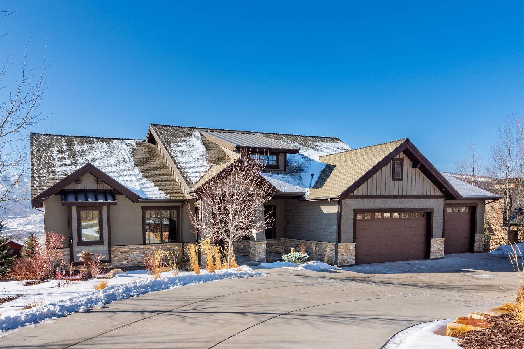 Single Family Homes for Sale at Ultimate Luxury with Sweeping Views of Deer Valley's Bald Mountain & Jordanelle 12559 Mud Springs Circle Kamas, Utah 84036 United States