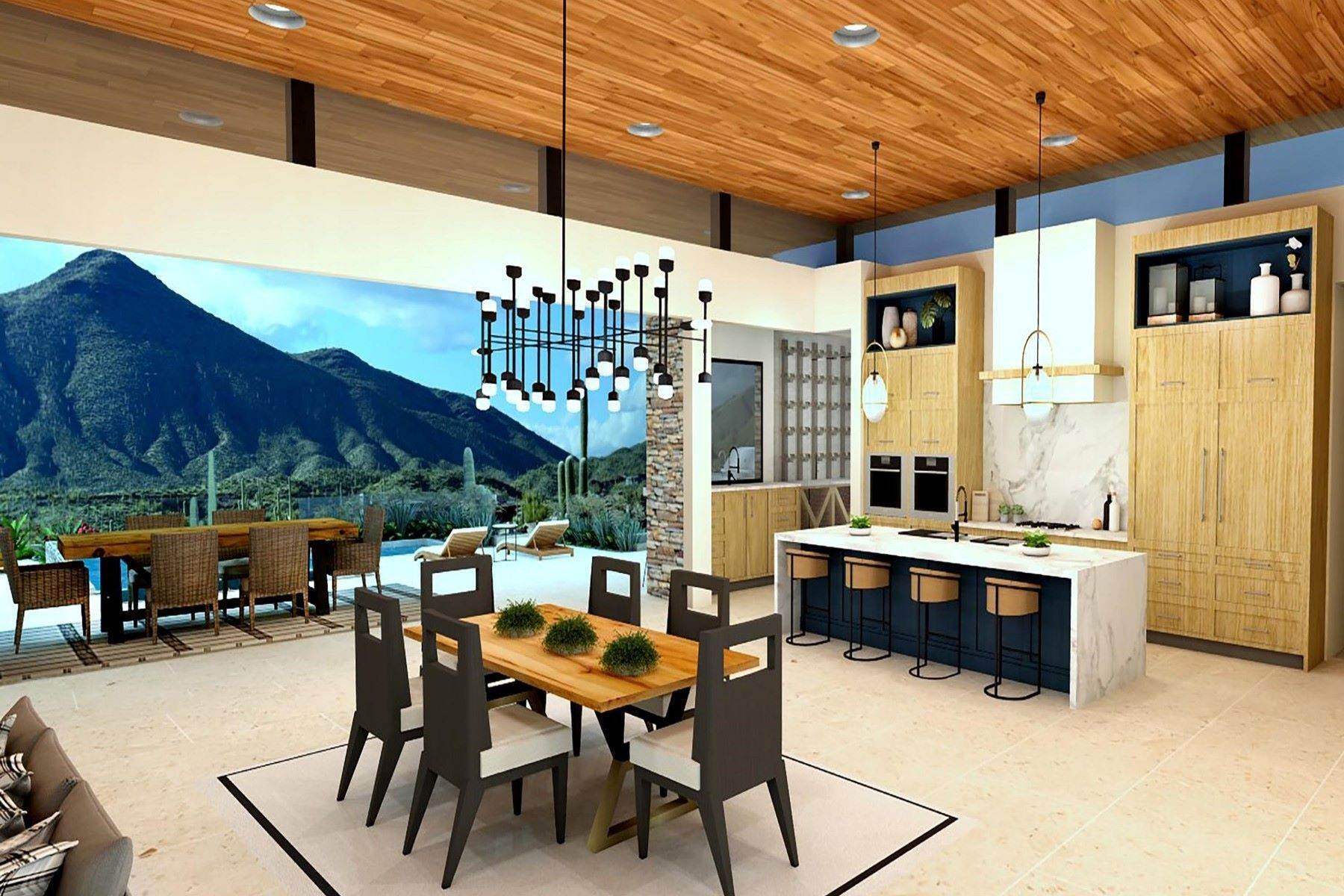 Single Family Homes for Sale at Saguaro Forest 127 9680 E Tear Drop Cove Lane Scottsdale, Arizona 85262 United States