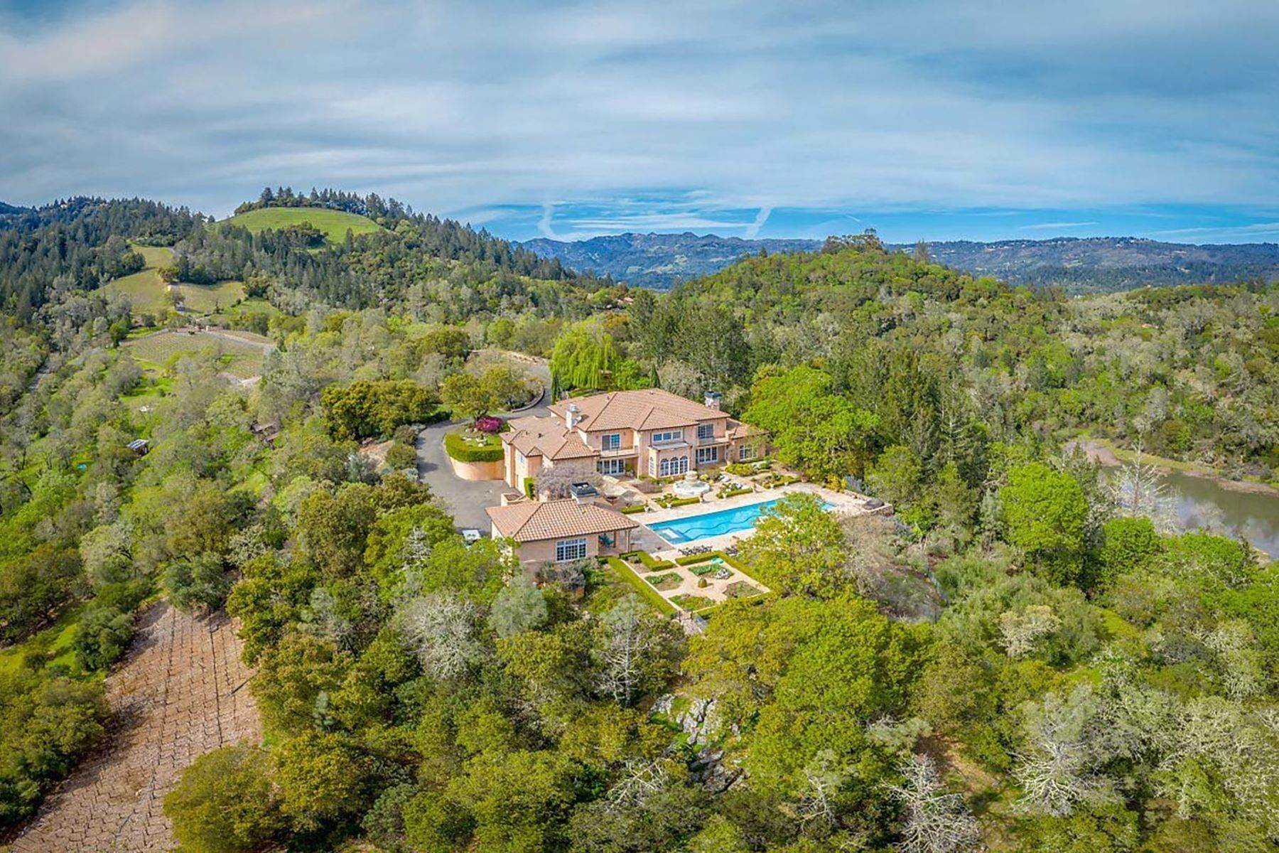 Single Family Homes for Sale at 2900 Spring Mountain Road St. Helena, California 94574 United States