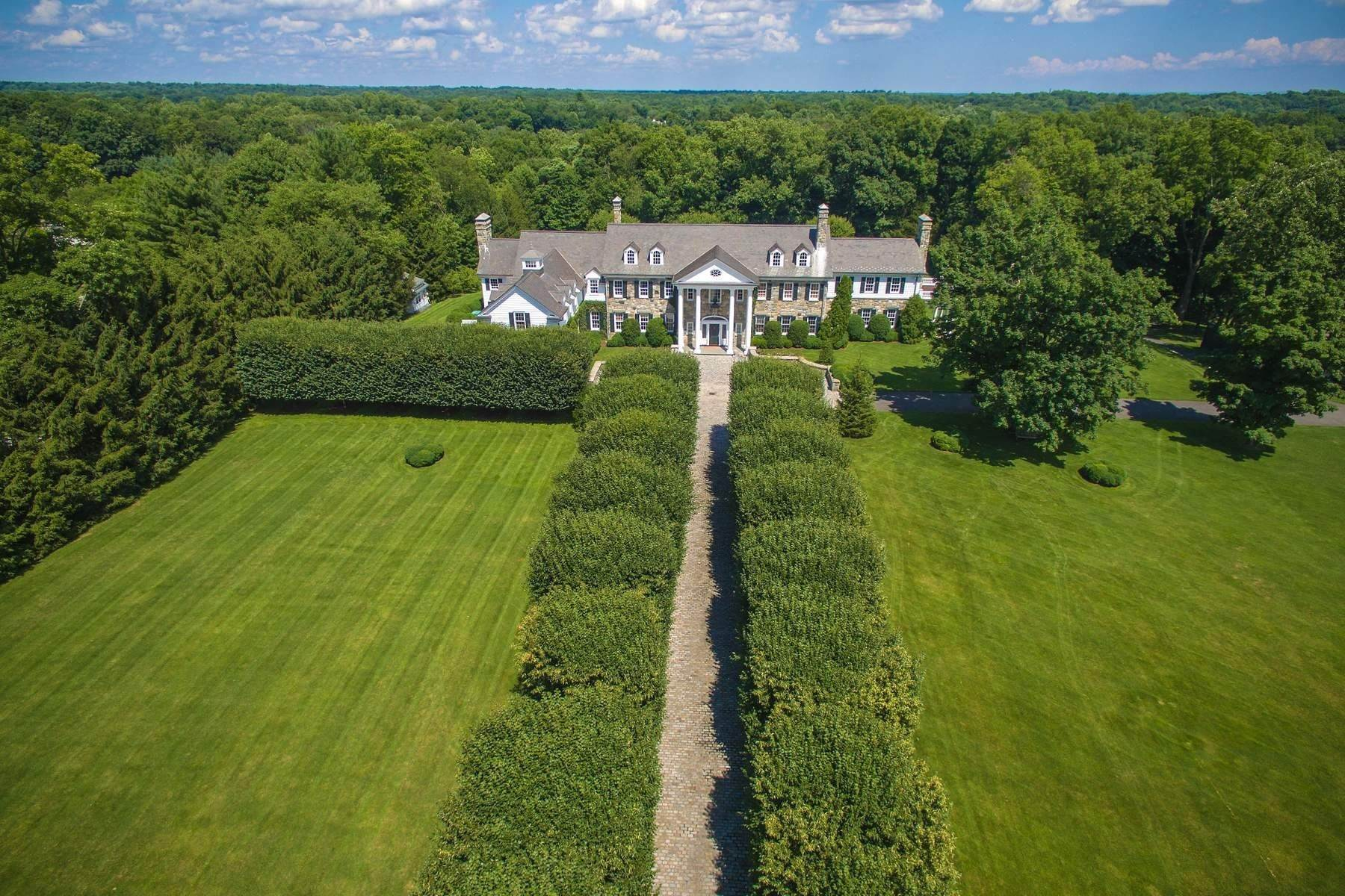 Single Family Homes for Sale at Stone Hill 435 Round Hill Road Greenwich, Connecticut 06831 United States