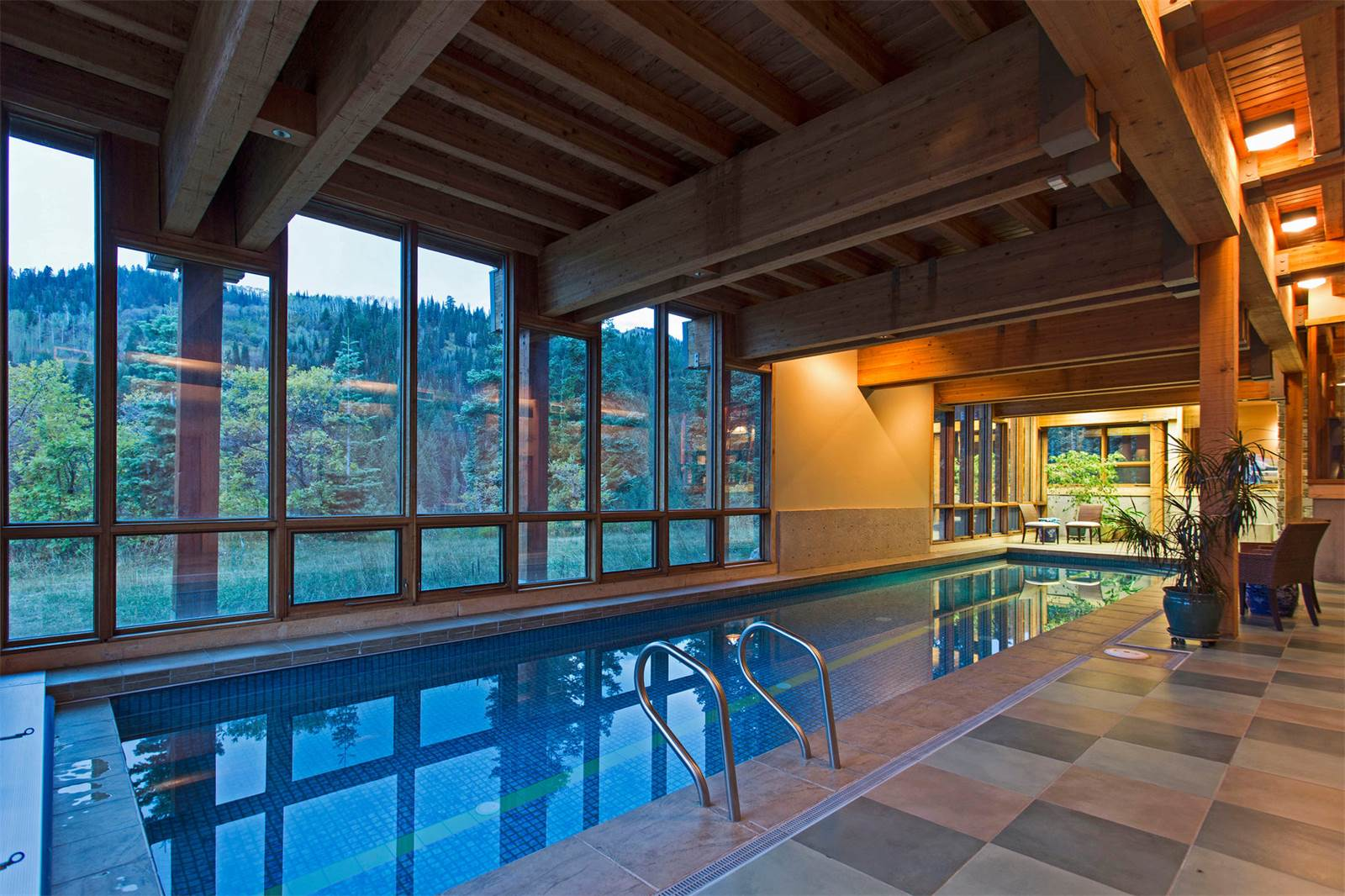 wonderful homes for sale in utah with swimming pools #5: Midway, Utah u2013 Encompassing 331 pristine acres of Utah mountain glory,  u201cSnake Creek Canyon Retreatu201d is a Frank Lloyd Wright inspired, approximate  10,400 ...