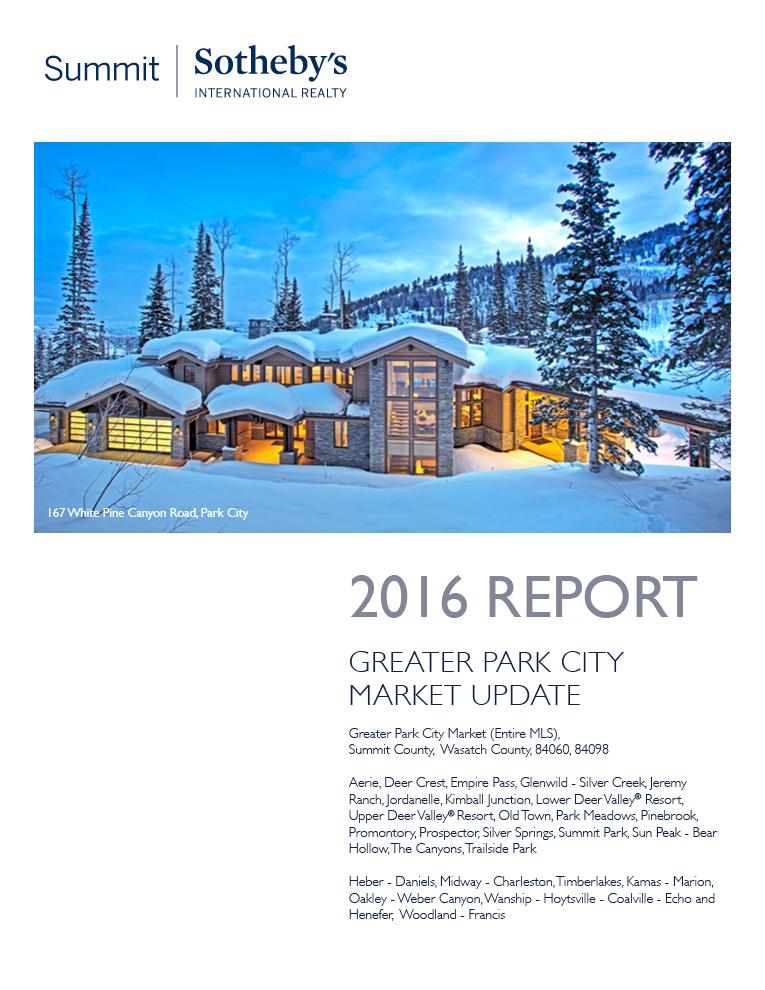 SSIR  2016 Year End Market Update