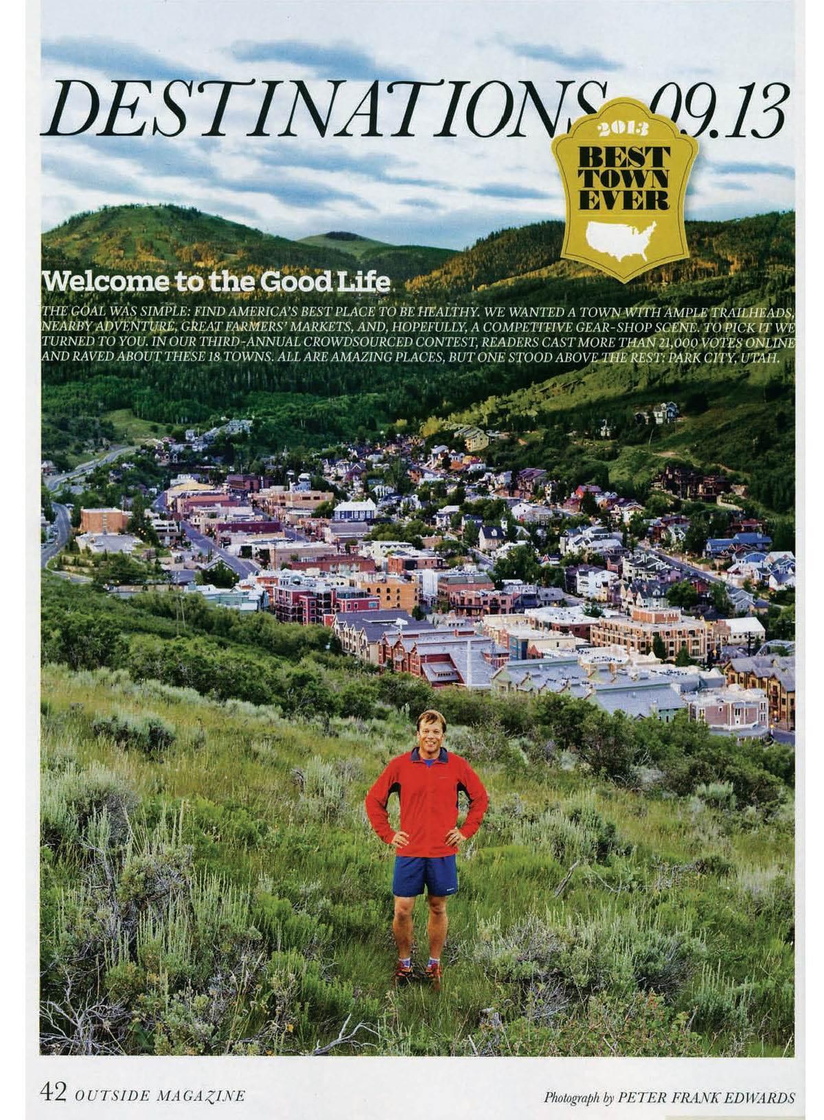 Outside Magazine Article
