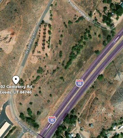 Land for Sale at 202 Cemetery Road Leeds, Utah 84746 United States