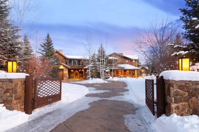 Single Family Homes for Sale at 1089 OLD RAIL Lane Park City, Utah 84098 United States
