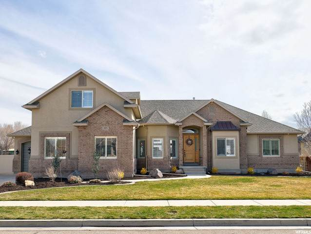 Single Family Homes for Sale at 1451 HUNTERS VIEW Court Riverton, Utah 84065 United States