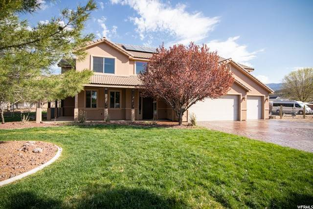 Single Family Homes for Sale at 1422 JADE Drive Diamond Valley, Utah 84770 United States