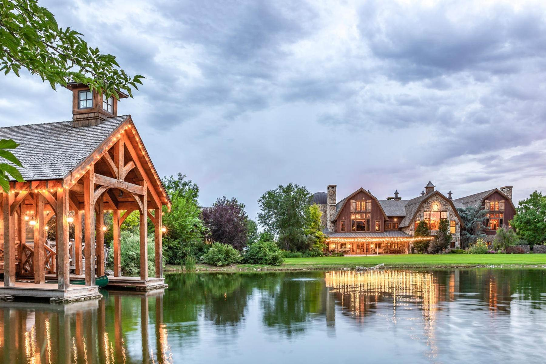 4. Single Family Homes for Sale at Stunning Private Residence and Recreational Facility on Nearly Twenty Acres 1709 S Geneva Rd Orem, Utah 84058 United States