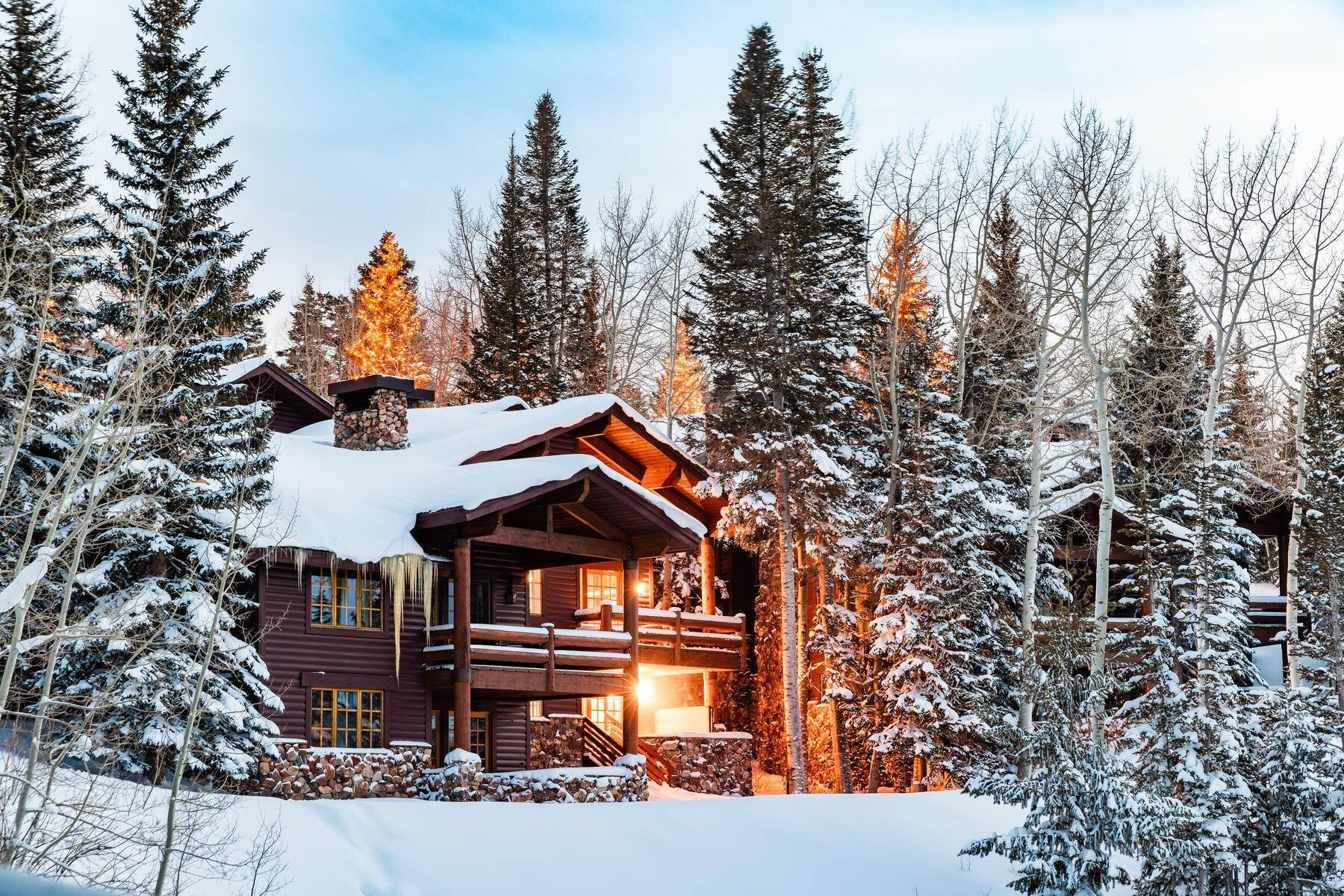 townhouses for Sale at Ski-In/Ski-Out, Seclusion, & Beautiful Valley Views 8190 The Woods Ct Park City, Utah 84060 United States