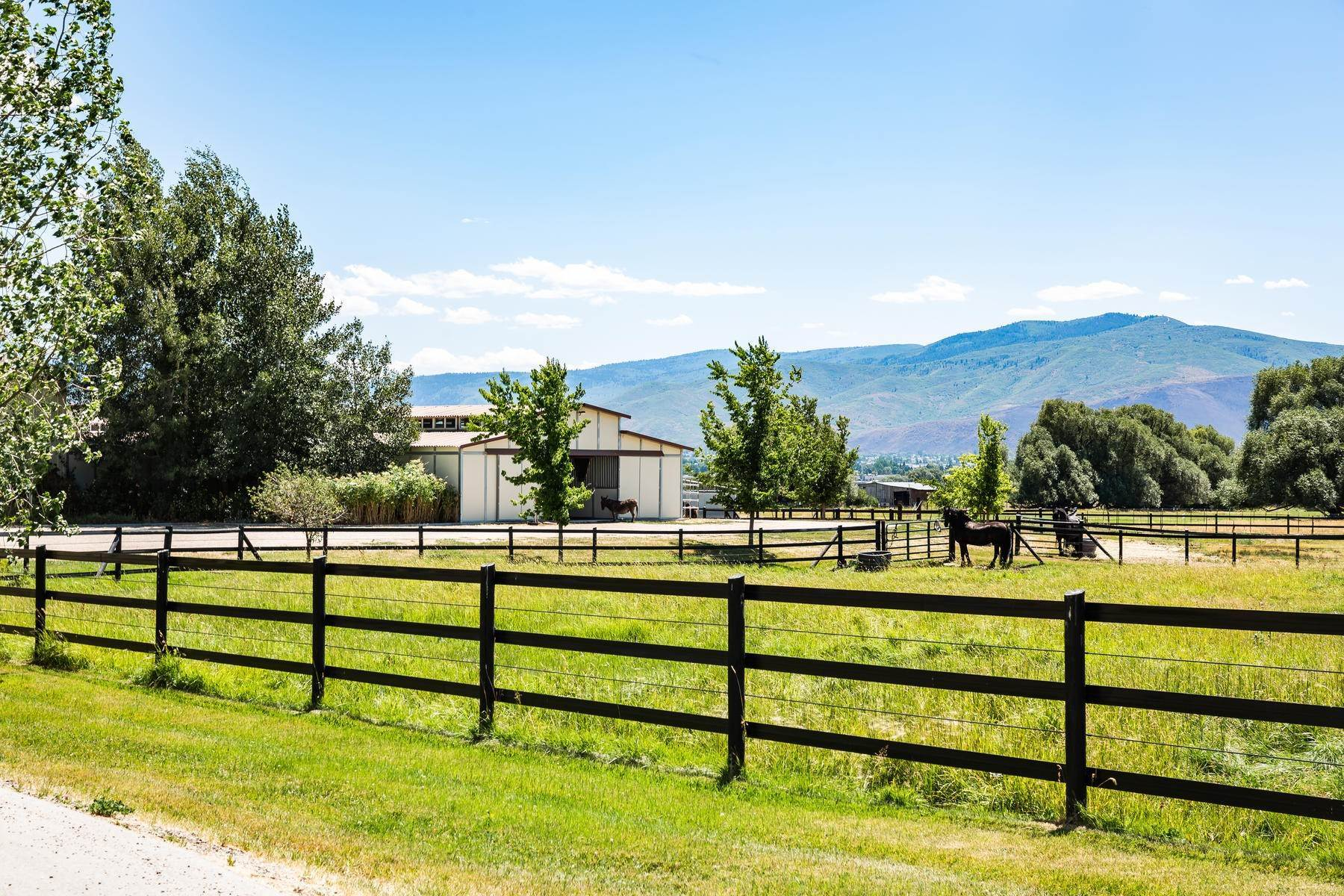 48. Farm and Ranch Properties for Sale at Shamans Circle Ranch—61 Acres with an Indoor Riding Facility in Heber 1336 N 1750 W Heber City, Utah 84032 United States
