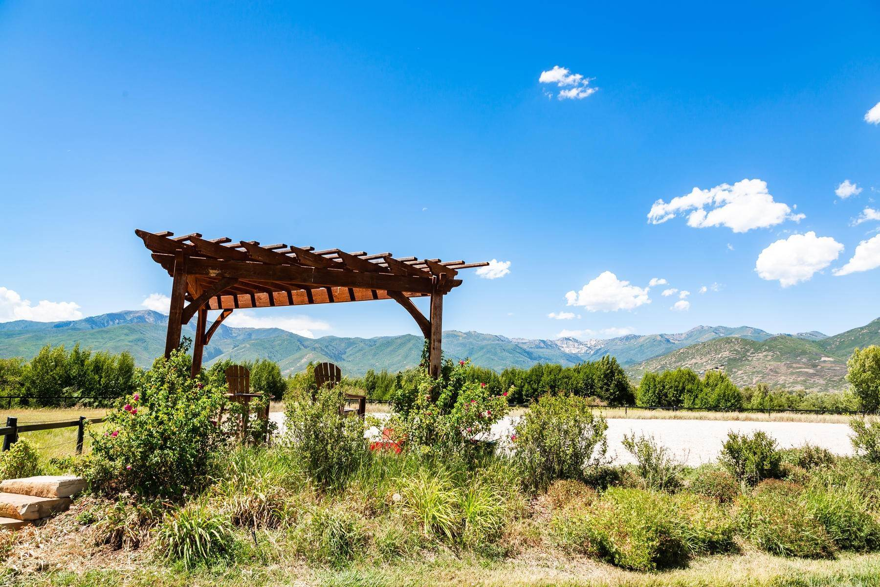 47. Farm and Ranch Properties for Sale at Shamans Circle Ranch—61 Acres with an Indoor Riding Facility in Heber 1336 N 1750 W Heber City, Utah 84032 United States