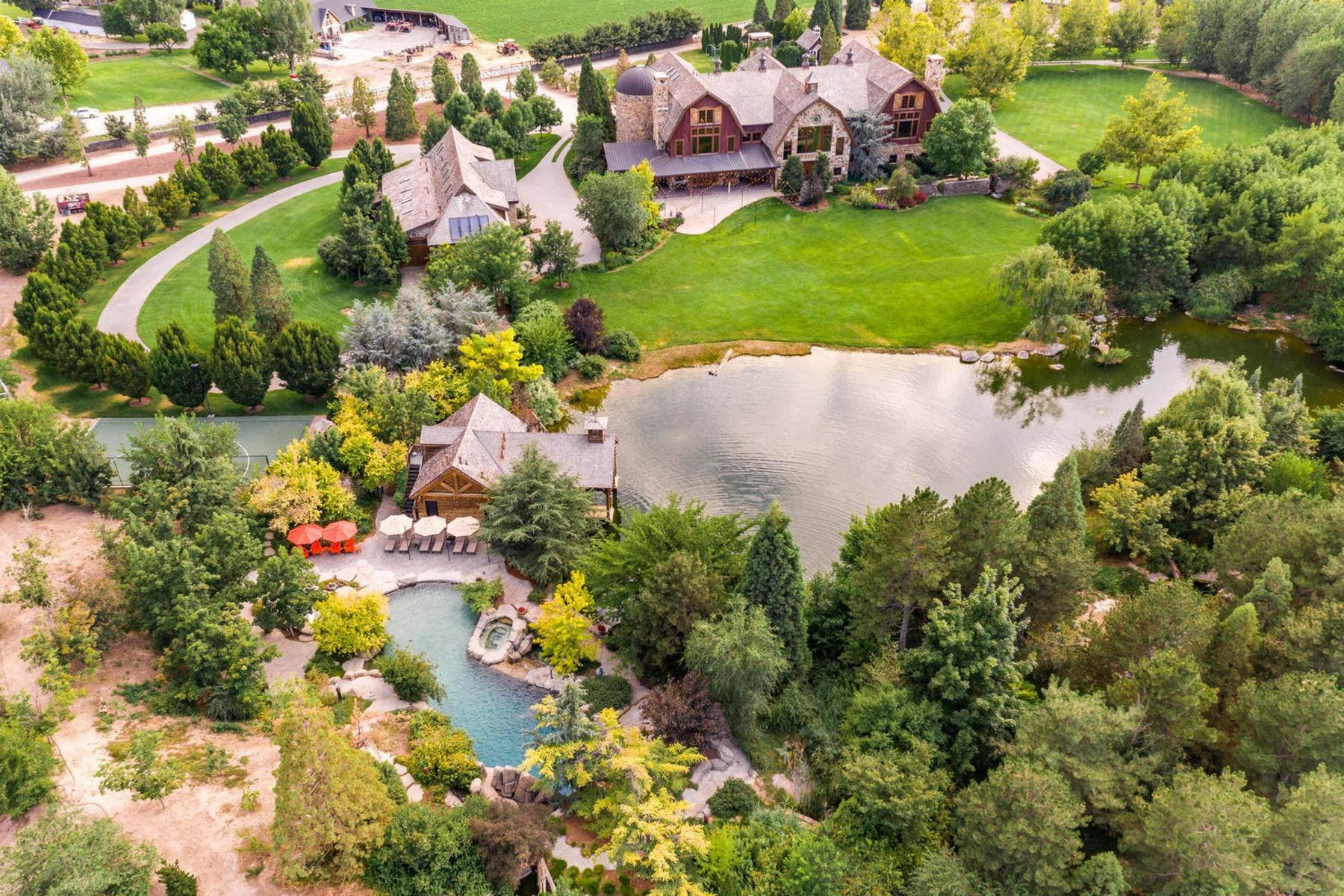 5. Single Family Homes for Sale at Stunning Private Residence and Recreational Facility on Nearly Twenty Acres 1709 S Geneva Rd Orem, Utah 84058 United States
