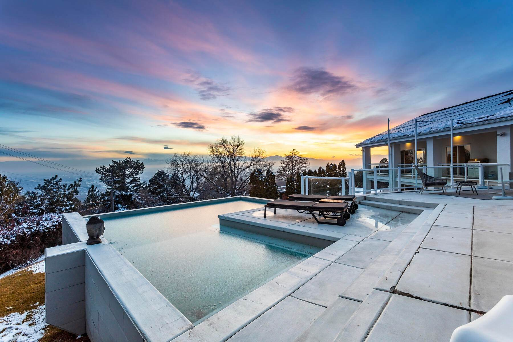 Single Family Homes for Sale at Luxury Living Spectacular Views 732 Northcrest Dr Salt Lake City, Utah 84103 United States