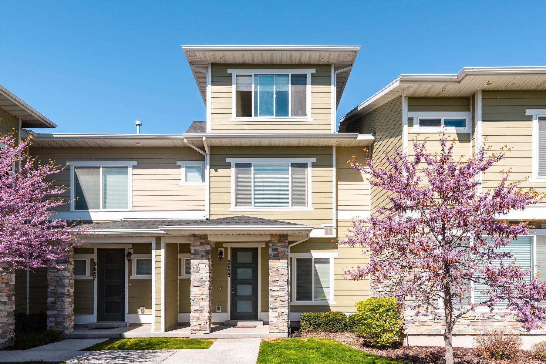 Single Family Homes for Sale at Not Your Typical Townhome 9683 Zakro Ln South Jordan, Utah 84095 United States