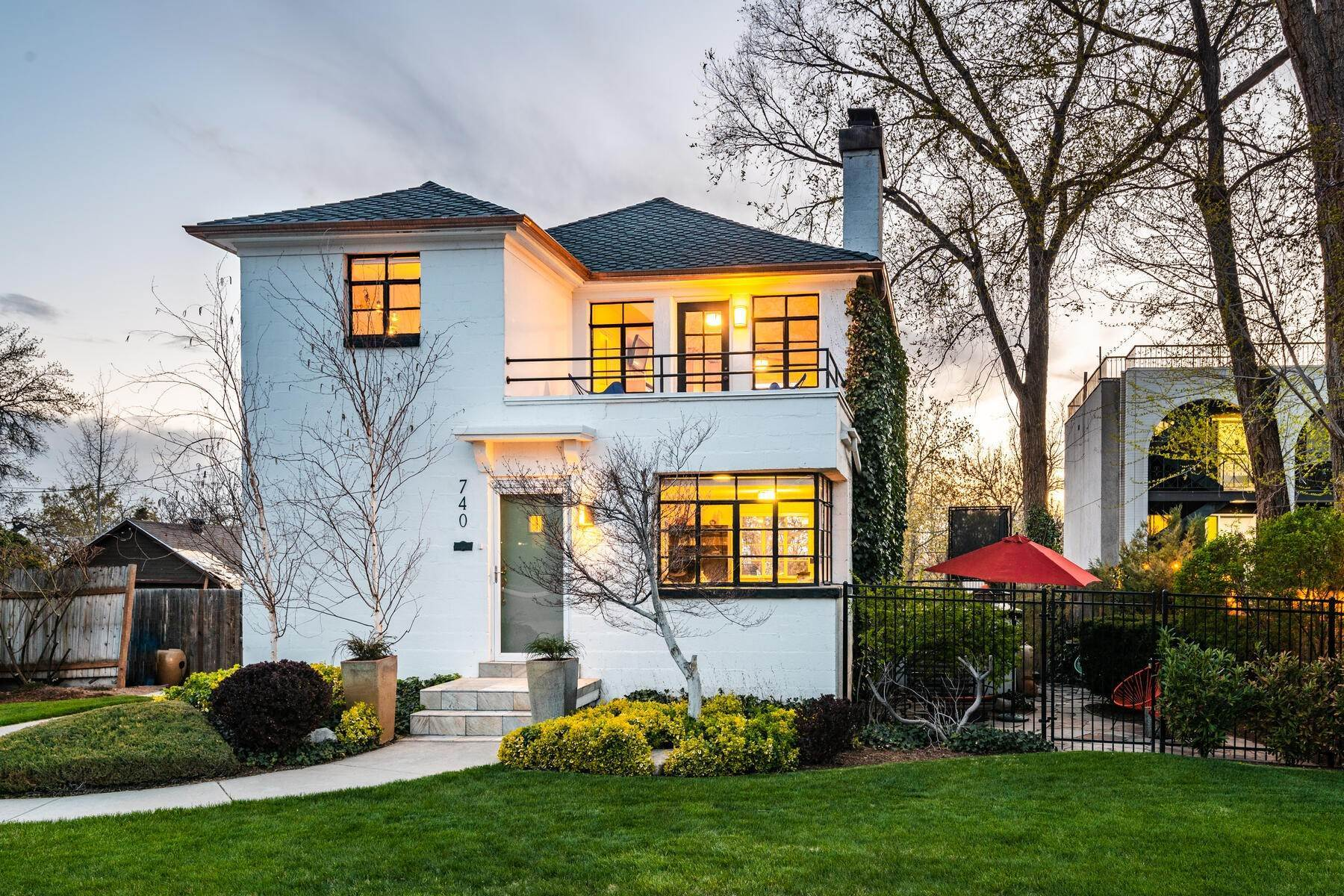 Single Family Homes for Sale at Art Deco Inspired Contemporary Home 740 S 1200 E Salt Lake City, Utah 84102 United States