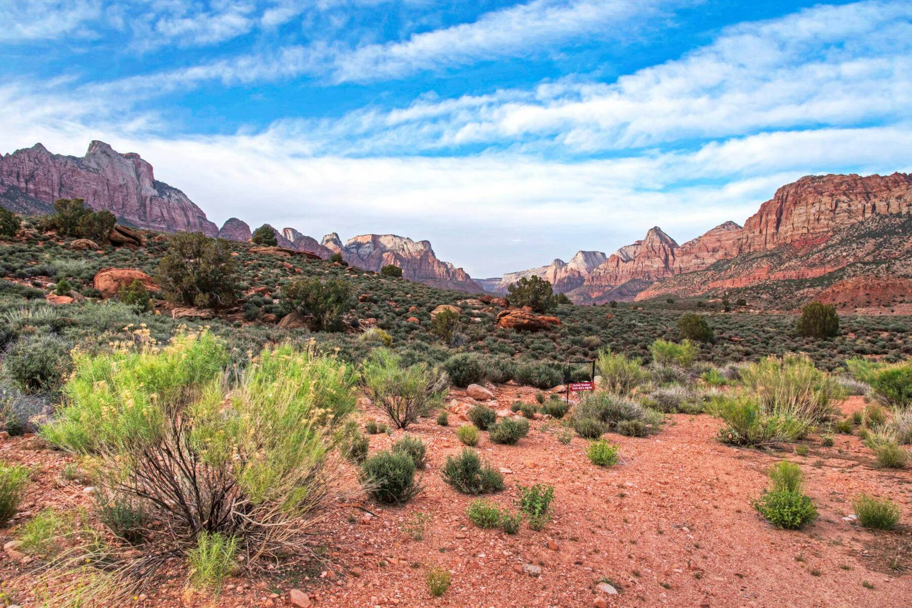 8. Land for Sale at Ultimate Zion Overlook 2613 Canyon Point Dr, Lot 3 Springdale, Utah 84767 United States