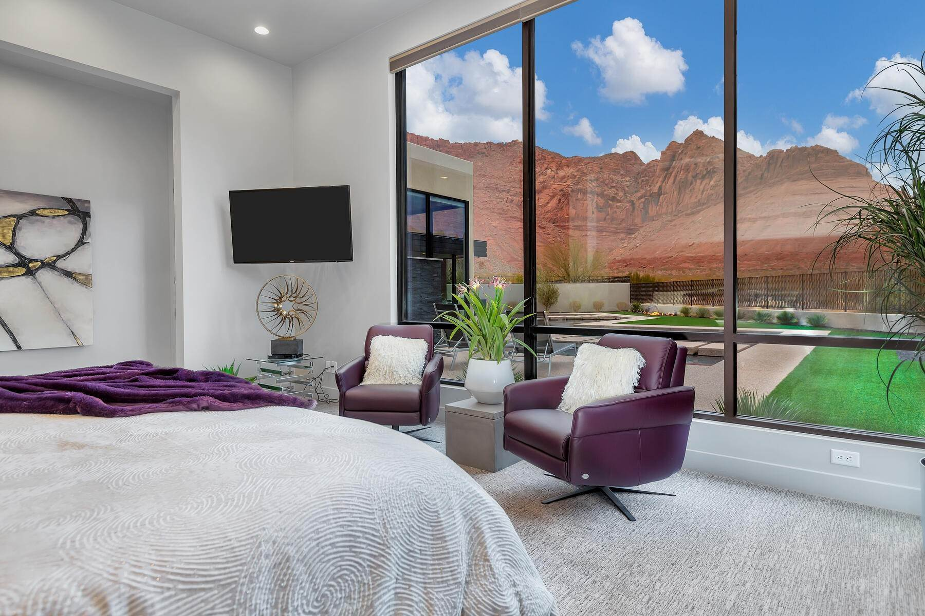 29. Single Family Homes for Sale at Modern Luxury Living In Snow Canyon 362 N Turtle Point Dr Ivins, Utah 84738 United States