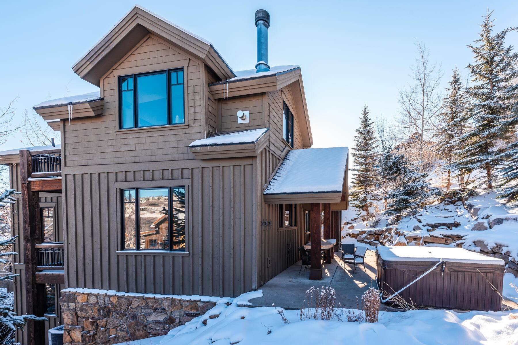 "37. Single Family Homes for Sale at ""The Woodside Estate."" Old Town, Park City's Ultimate True Ski-In Residence. 561 Woodside Avenue Park City, Utah 84060 United States"