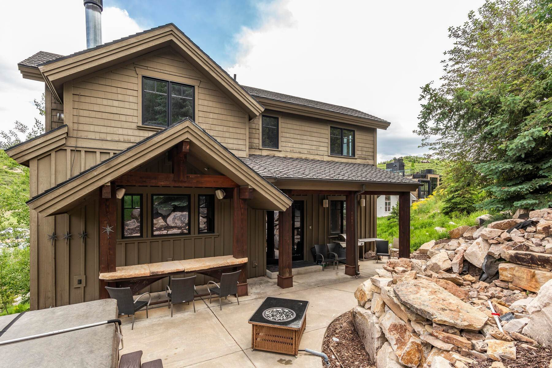 "11. Single Family Homes for Sale at ""The Woodside Estate."" Old Town, Park City's Ultimate True Ski-In Residence. 561 Woodside Avenue Park City, Utah 84060 United States"