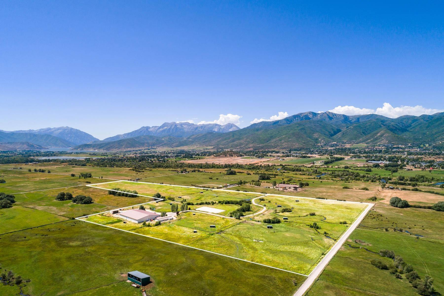 4. Farm and Ranch Properties for Sale at Shamans Circle Ranch—61 Acres with an Indoor Riding Facility in Heber 1336 N 1750 W Heber City, Utah 84032 United States