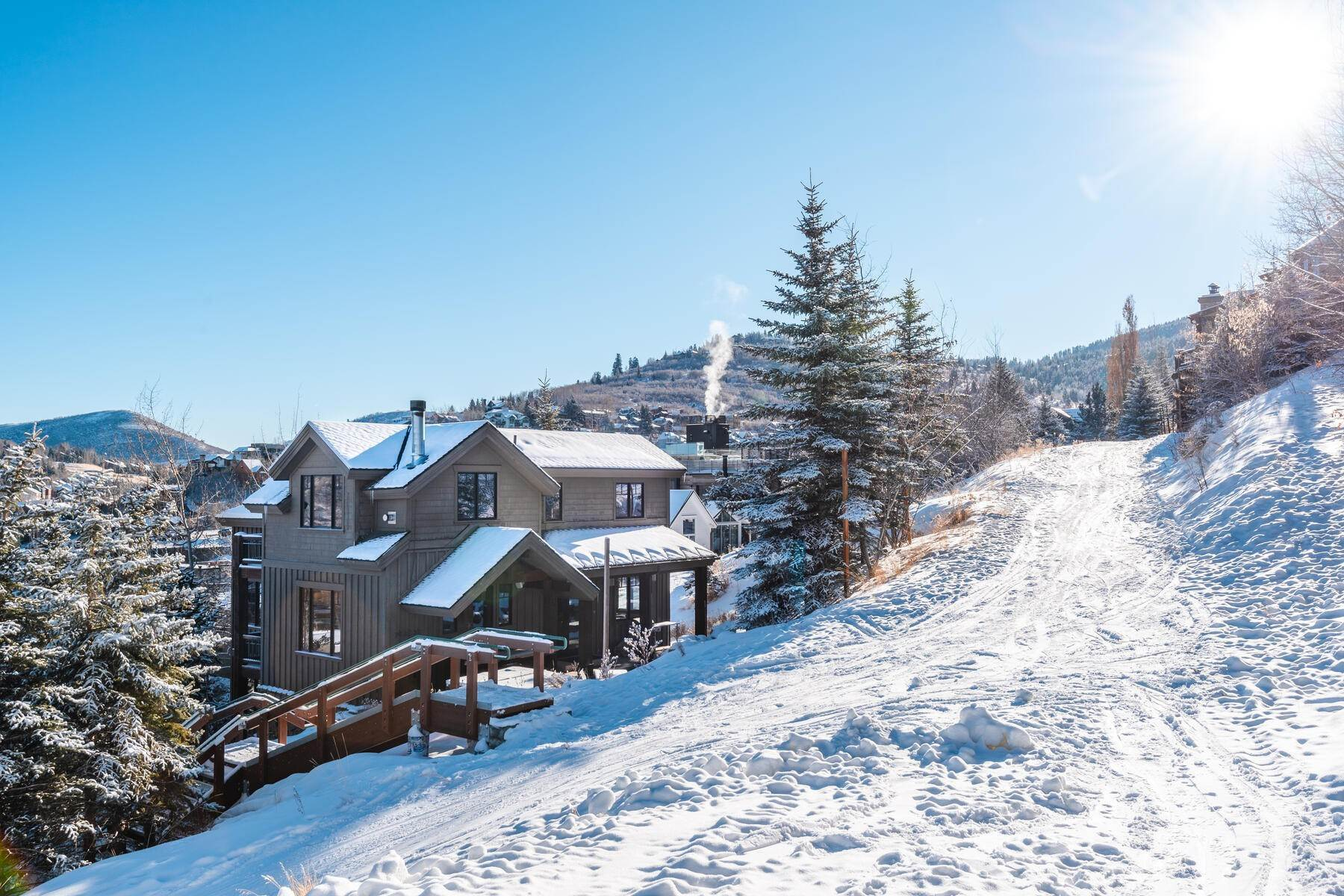 "Single Family Homes for Sale at ""The Woodside Estate."" Old Town, Park City's Ultimate True Ski-In Residence. 561 Woodside Avenue Park City, Utah 84060 United States"