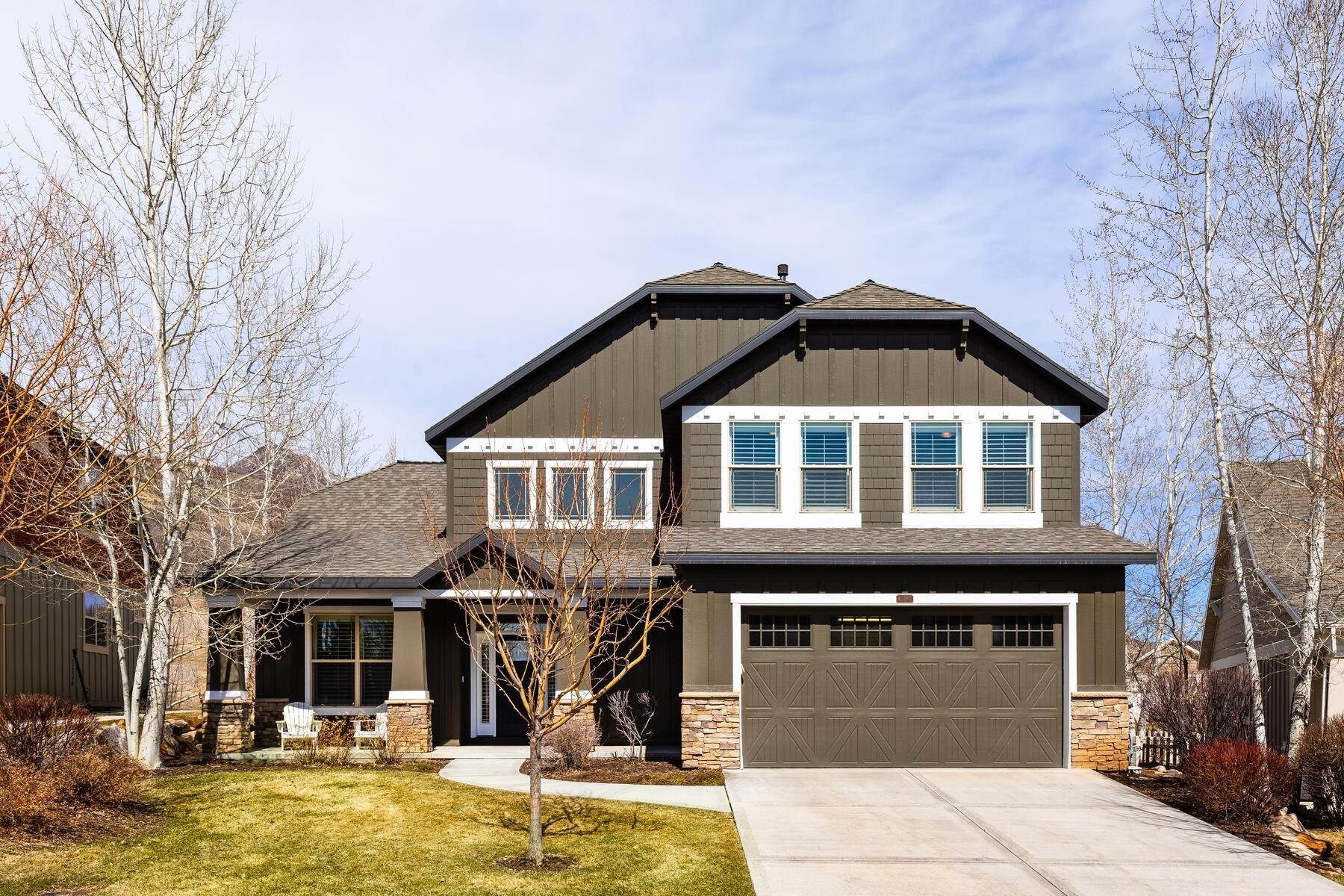 Single Family Homes for Sale at Dutch Cottage Premier Lot and Home 483 E Craftsman Way Midway, Utah 84049 United States