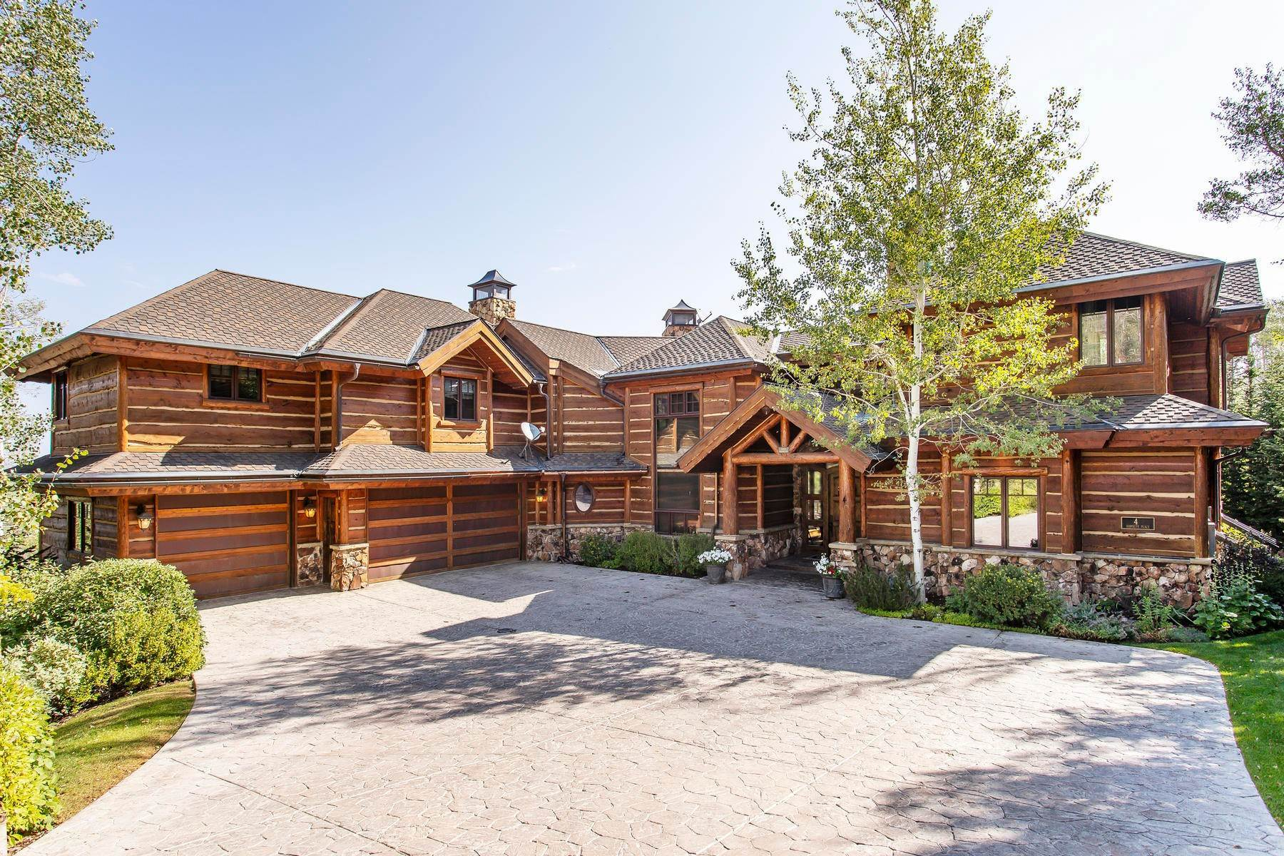 Single Family Homes for Sale at Premier Location In Northside Village 4 Hawkeye Place Park City, Utah 84060 United States