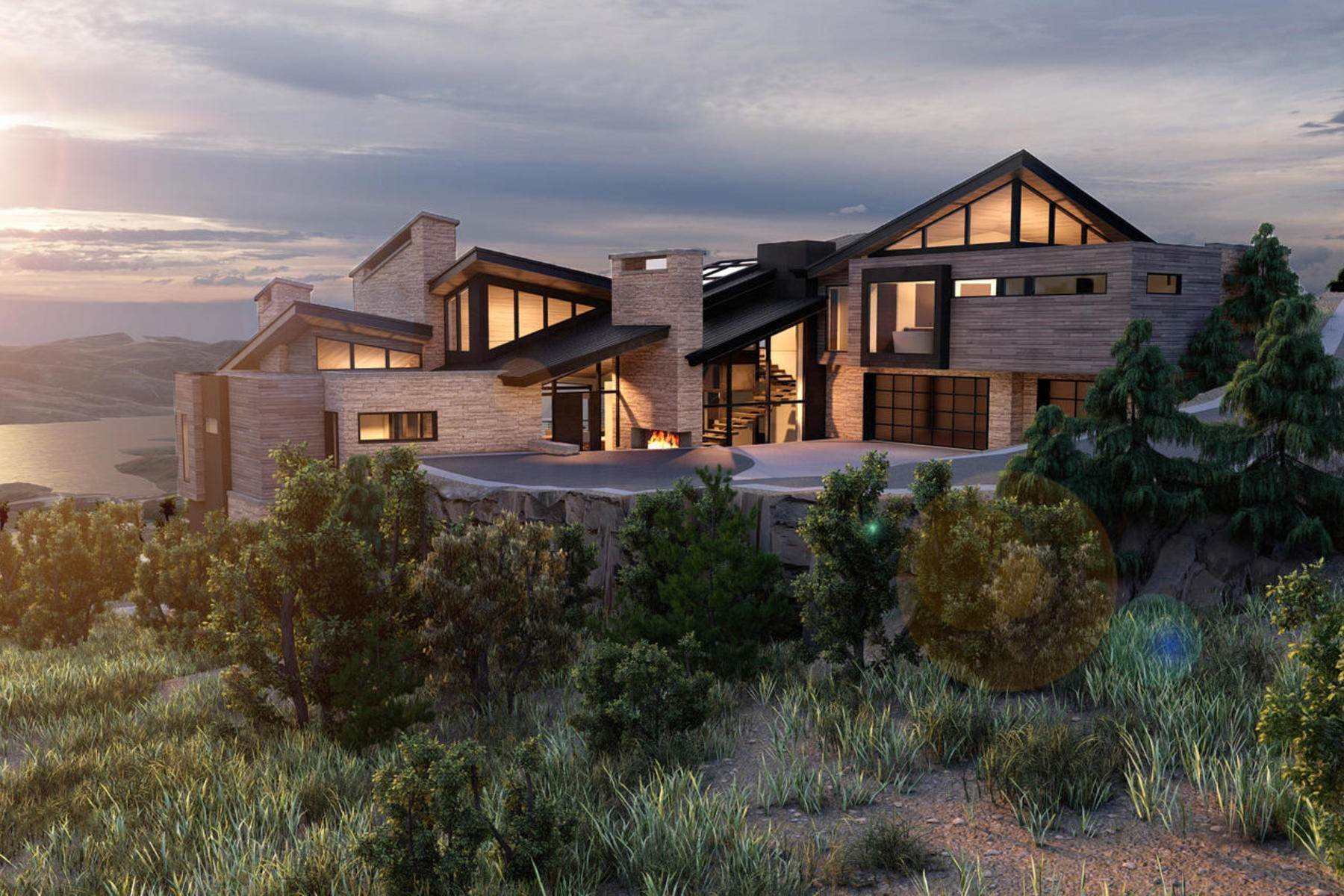 Single Family Homes for Sale at Exceptional Ski-In/Ski-Out Deer Valley Estate 2923 W Jordanelle View Dr Park City, Utah 84060 United States