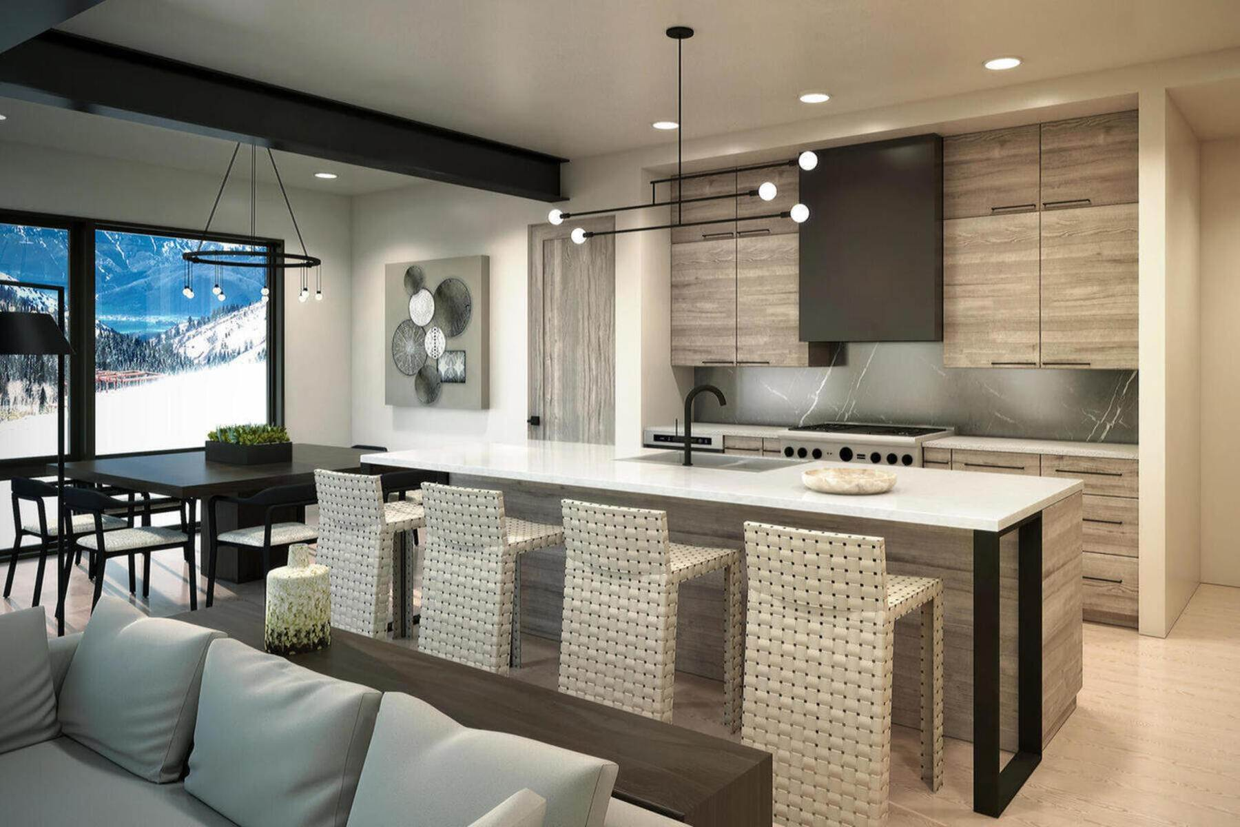 6. townhouses for Sale at Ski In Town Homes in Canyons Village 3478 Ridgeline Drive Park City, Utah 84098 United States