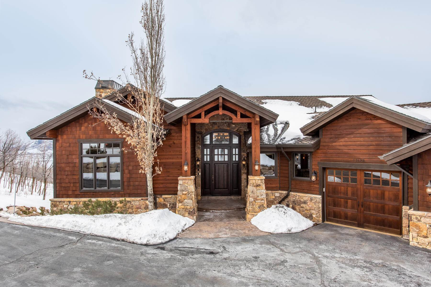 Single Family Homes for Sale at Custom Deer Mountain Estates Home with Spectacular Views 13193 Slalom Run Way Kamas, Utah 84036 United States