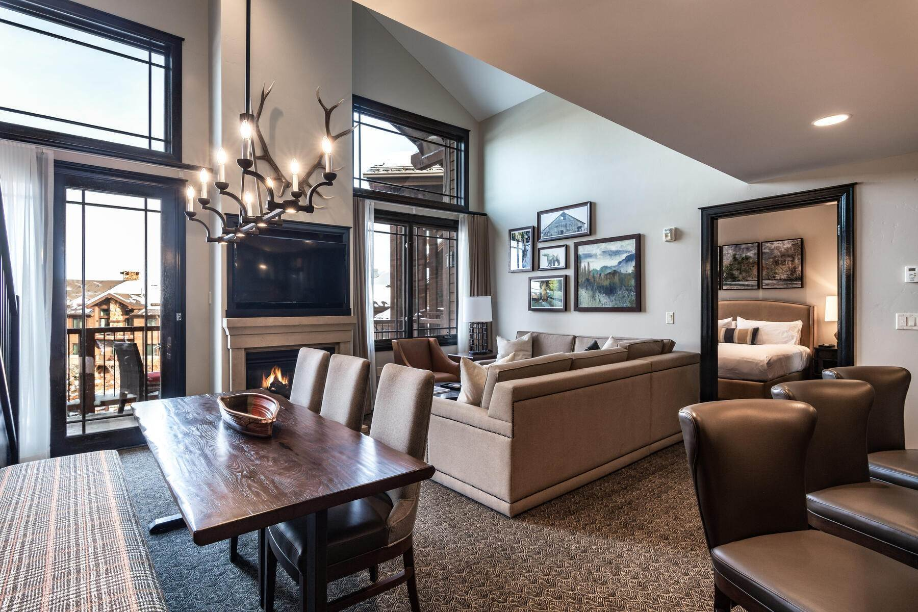 Condominiums for Sale at Only 4-Bedroom Available at Waldorf Astoria, Top Floor, Penthouse Unit 2100 W Frostwood Blvd, #7117 Park City, Utah 84098 United States