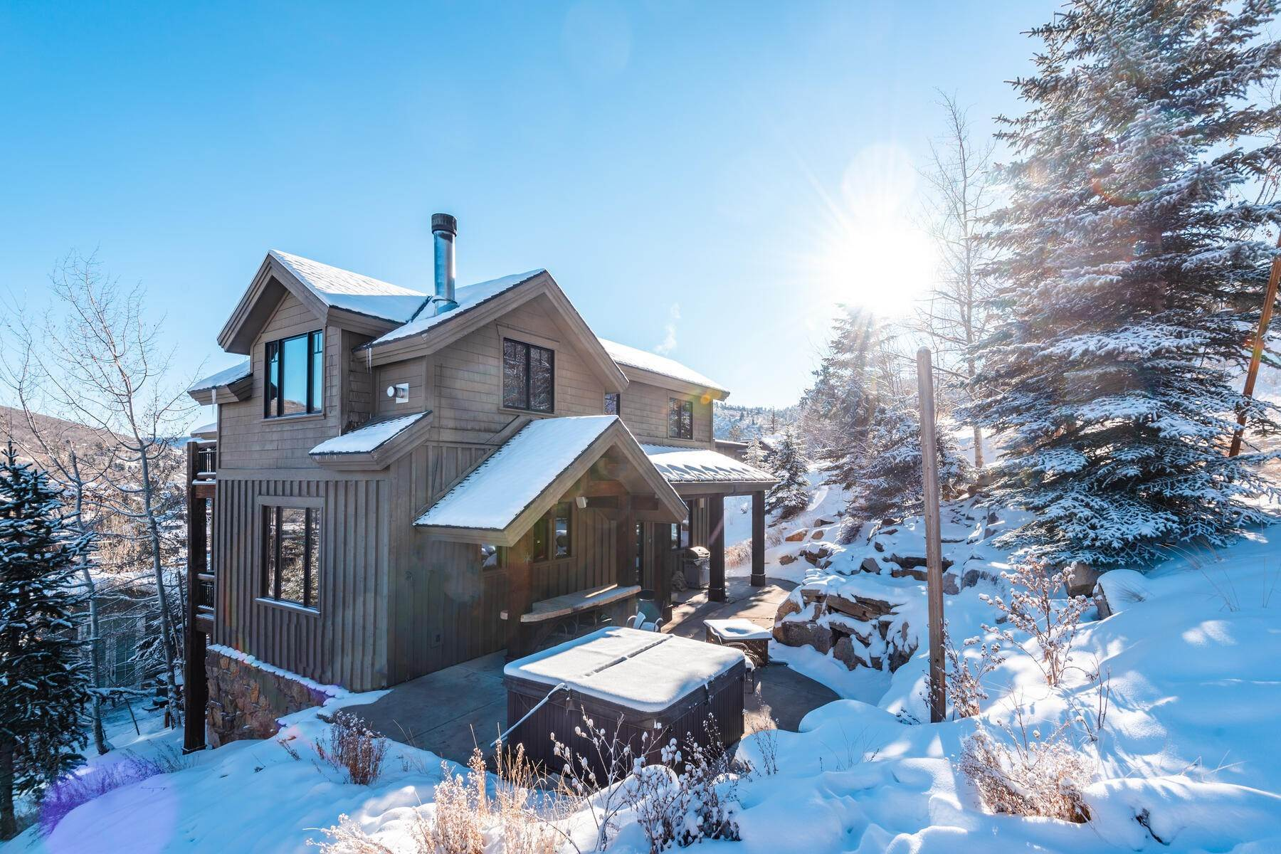 "2. Single Family Homes for Sale at ""The Woodside Estate."" Old Town, Park City's Ultimate True Ski-In Residence. 561 Woodside Avenue Park City, Utah 84060 United States"