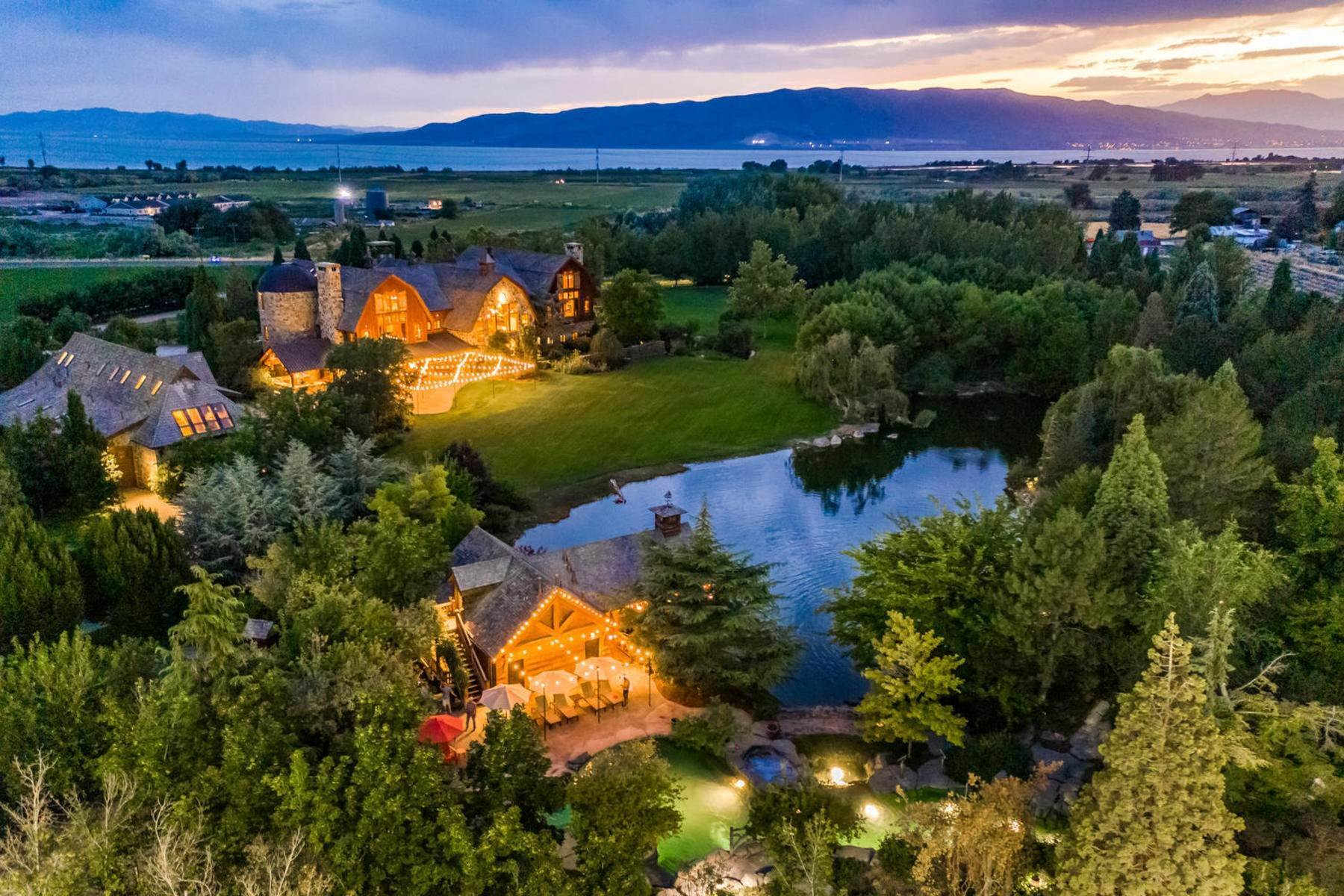 50. Single Family Homes for Sale at Stunning Private Residence and Recreational Facility on Nearly Twenty Acres 1709 S Geneva Rd Orem, Utah 84058 United States
