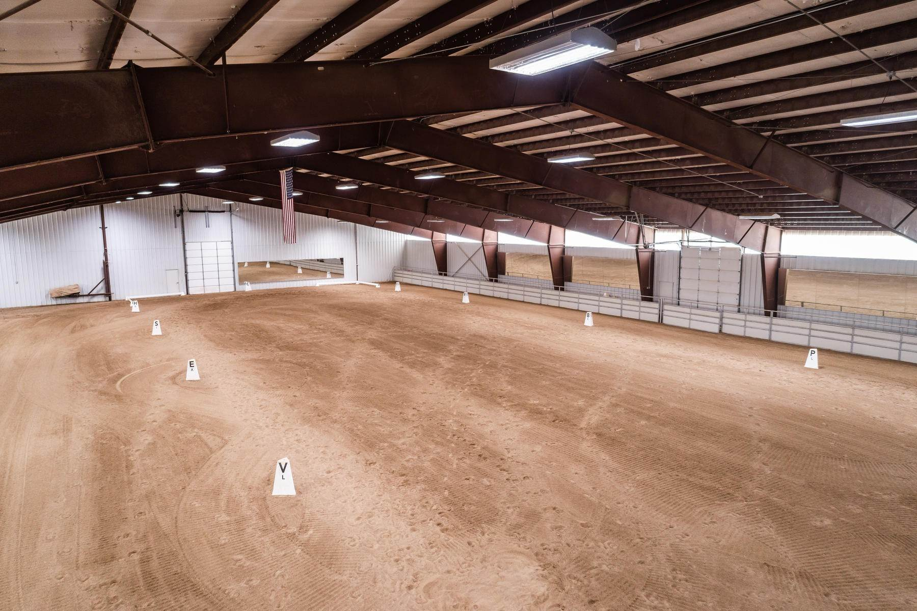 19. Farm and Ranch Properties for Sale at Shamans Circle Ranch—61 Acres with an Indoor Riding Facility in Heber 1336 N 1750 W Heber City, Utah 84032 United States