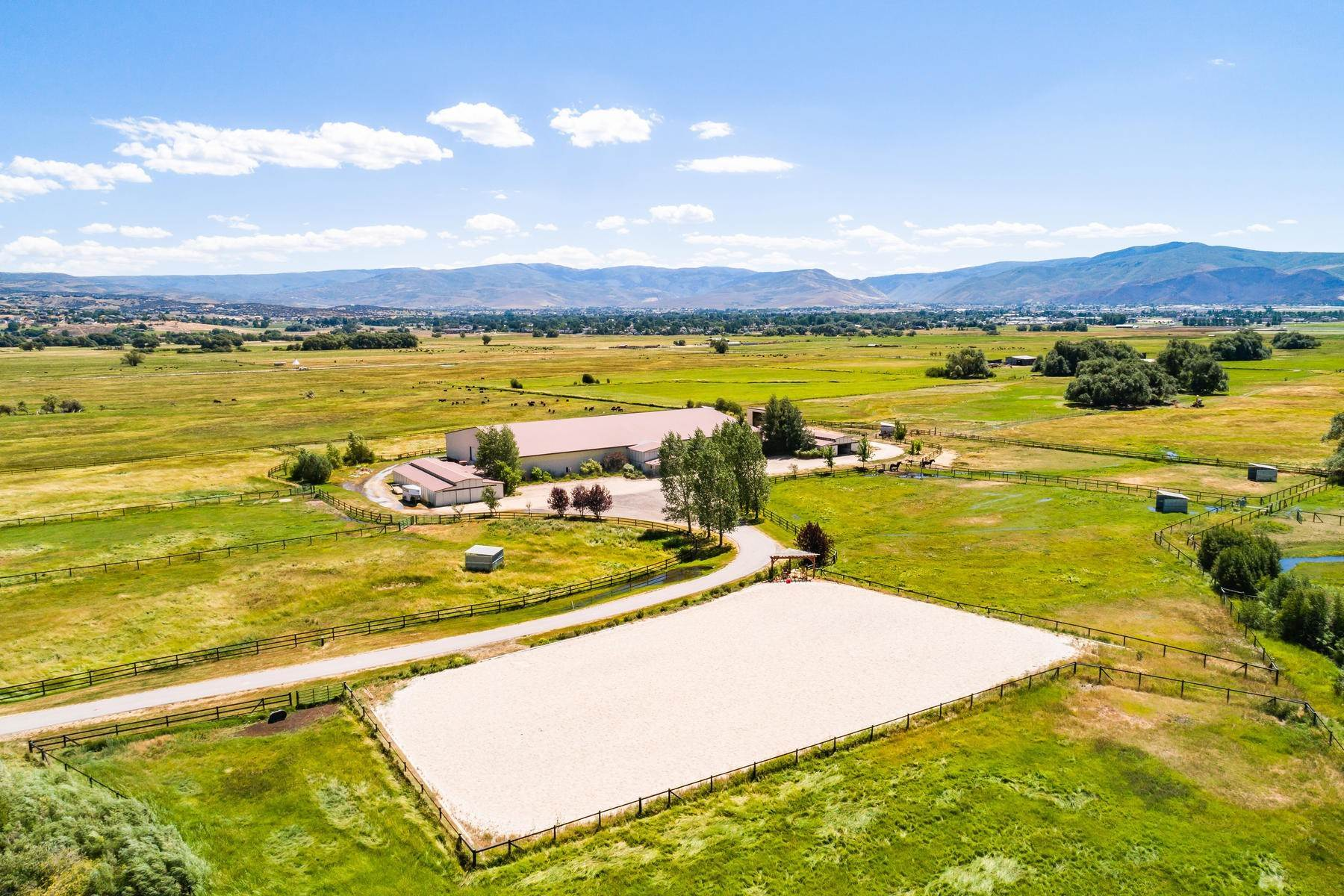 3. Farm and Ranch Properties for Sale at Shamans Circle Ranch—61 Acres with an Indoor Riding Facility in Heber 1336 N 1750 W Heber City, Utah 84032 United States