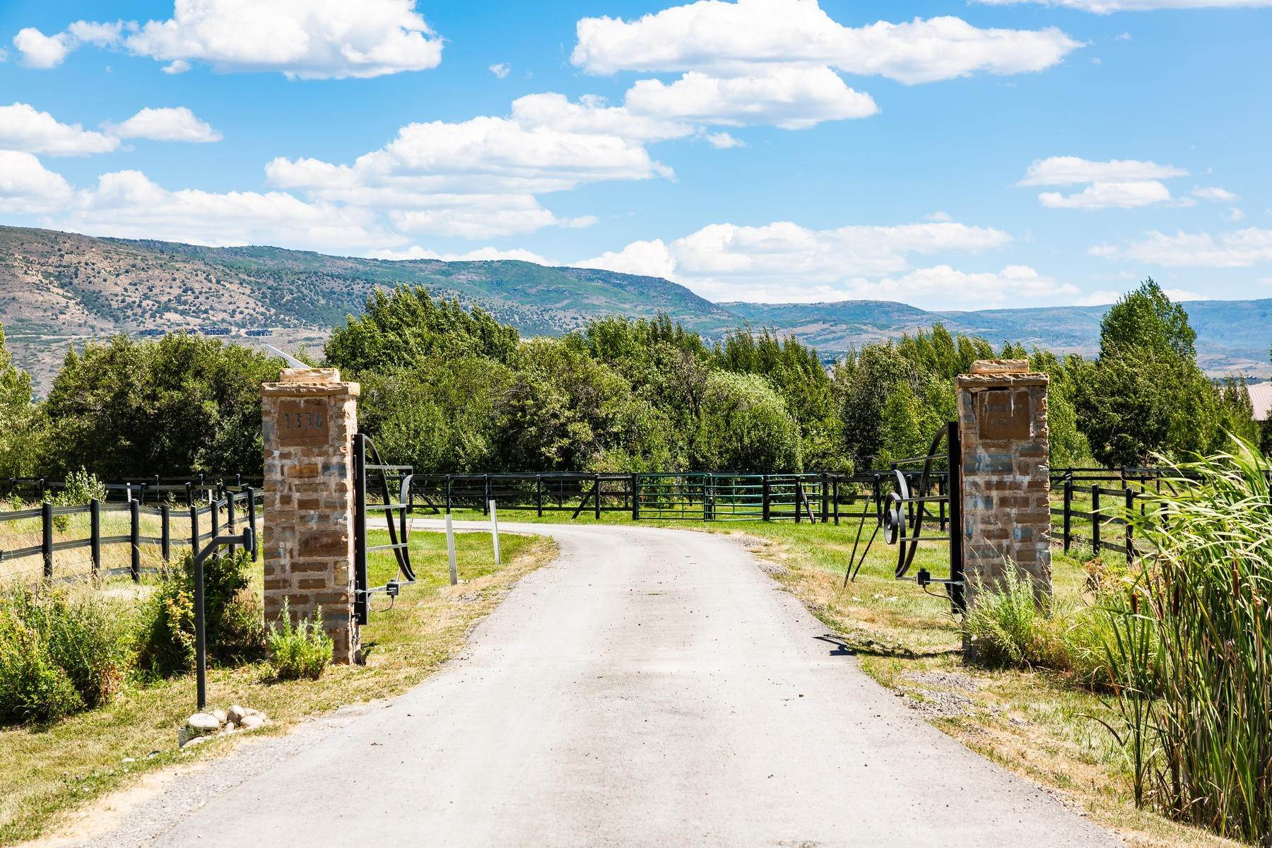 50. Farm and Ranch Properties for Sale at Shamans Circle Ranch—61 Acres with an Indoor Riding Facility in Heber 1336 N 1750 W Heber City, Utah 84032 United States