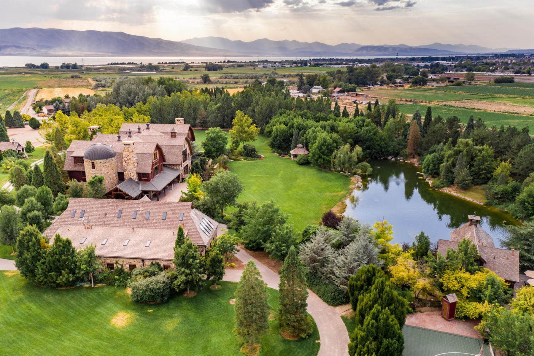 6. Single Family Homes for Sale at Stunning Private Residence and Recreational Facility on Nearly Twenty Acres 1709 S Geneva Rd Orem, Utah 84058 United States