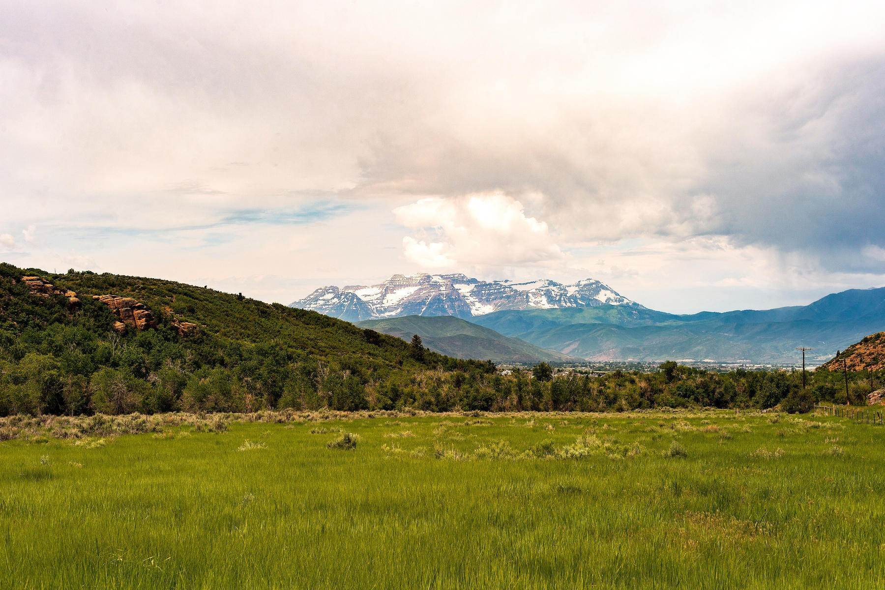Land for Sale at Stunning Views of Mount Timpanogos from Over 406 Acres in Heber Valley Lake Creek Road Heber, Utah 84032 United States