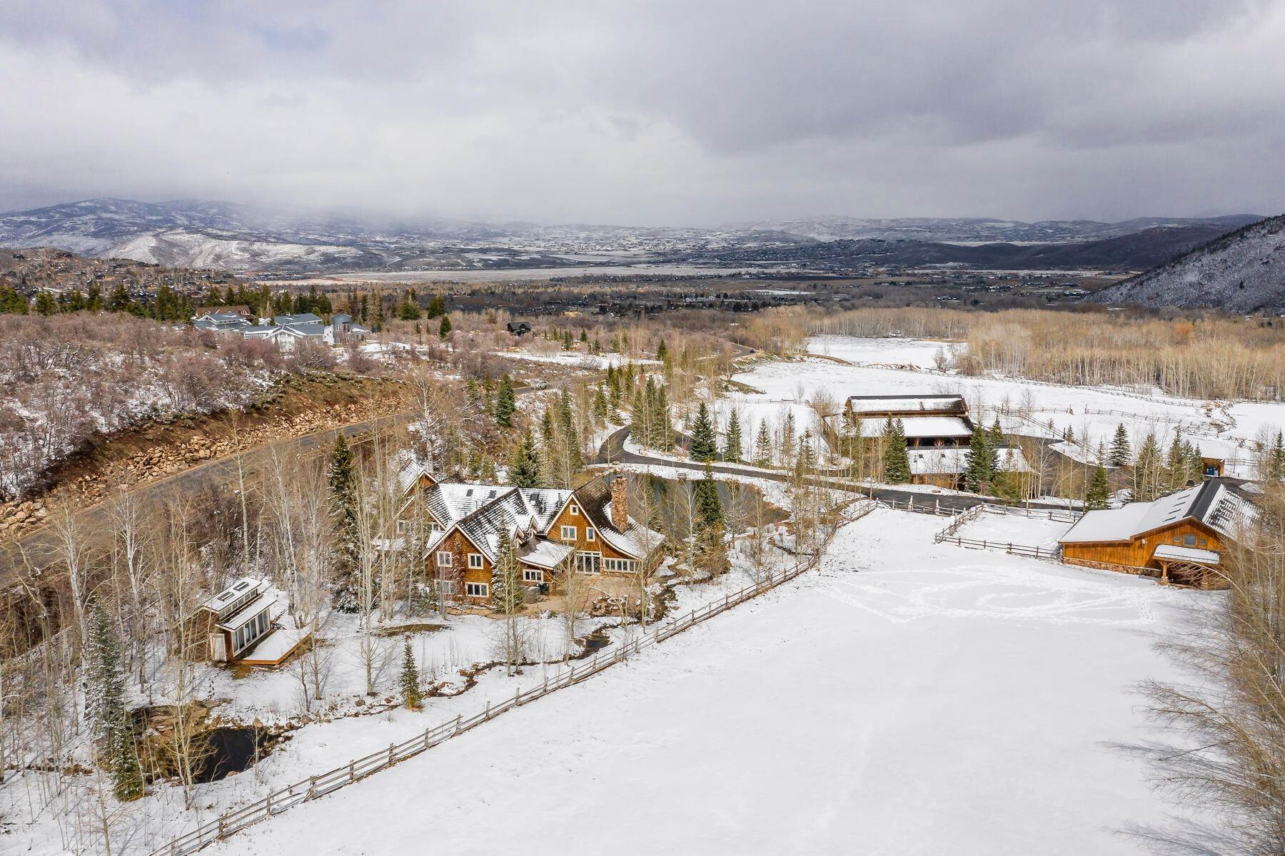 Farm and Ranch Properties for Sale at Private Luxury Ranch Estate on Over 100 Acres in the Heart of Park City 2189 White Pine Canyon Rd Park City, Utah 84060 United States