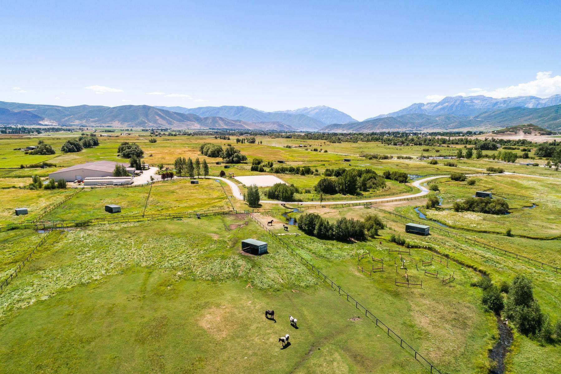 2. Farm and Ranch Properties for Sale at Shamans Circle Ranch—61 Acres with an Indoor Riding Facility in Heber 1336 N 1750 W Heber City, Utah 84032 United States