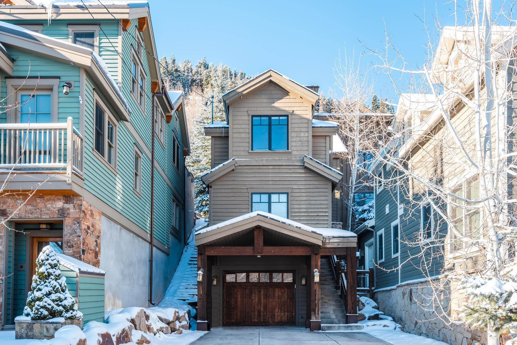"5. Single Family Homes for Sale at ""The Woodside Estate."" Old Town, Park City's Ultimate True Ski-In Residence. 561 Woodside Avenue Park City, Utah 84060 United States"