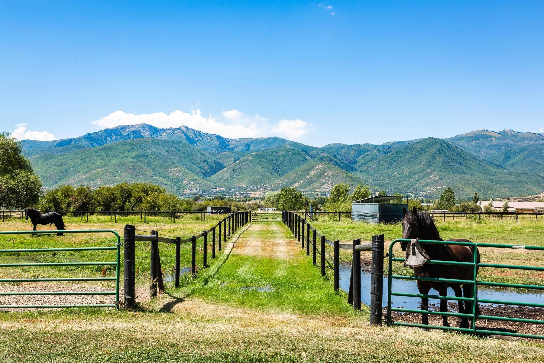 44. Farm and Ranch Properties for Sale at Shamans Circle Ranch—61 Acres with an Indoor Riding Facility in Heber 1336 N 1750 W Heber City, Utah 84032 United States